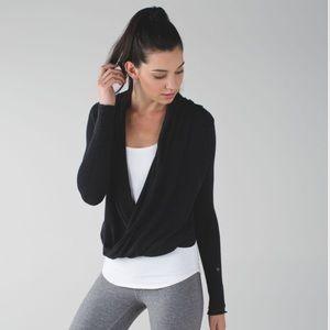 Lululemon wrap front sweater